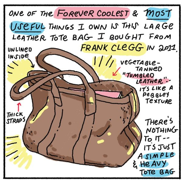 Style & Fashion Drawings: Ryan's Weekend Carry