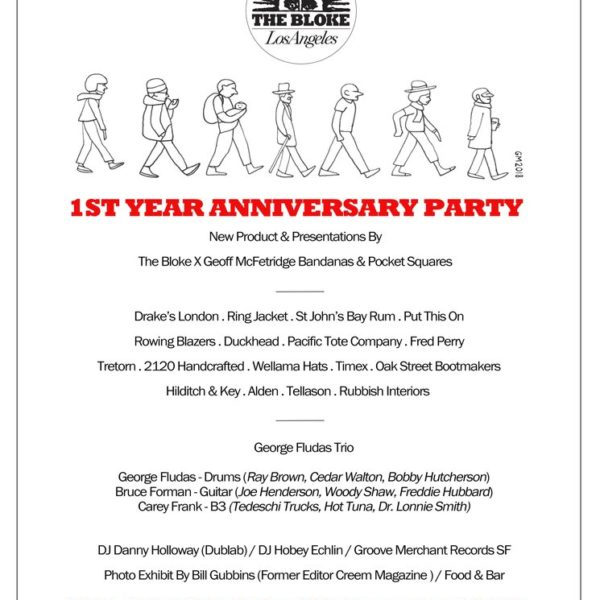 Hang Out With Us And Other Cool People at The Bloke's 1 Year Anniversary Party this Saturday in Pasadena, CA