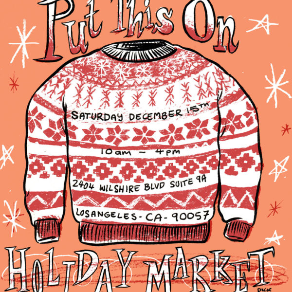 The Put This On Holiday Market is SATURDAY! Plus 50% Off Pocket Squares