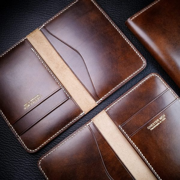 Custom Leather Goods on Sale at Chester Mox