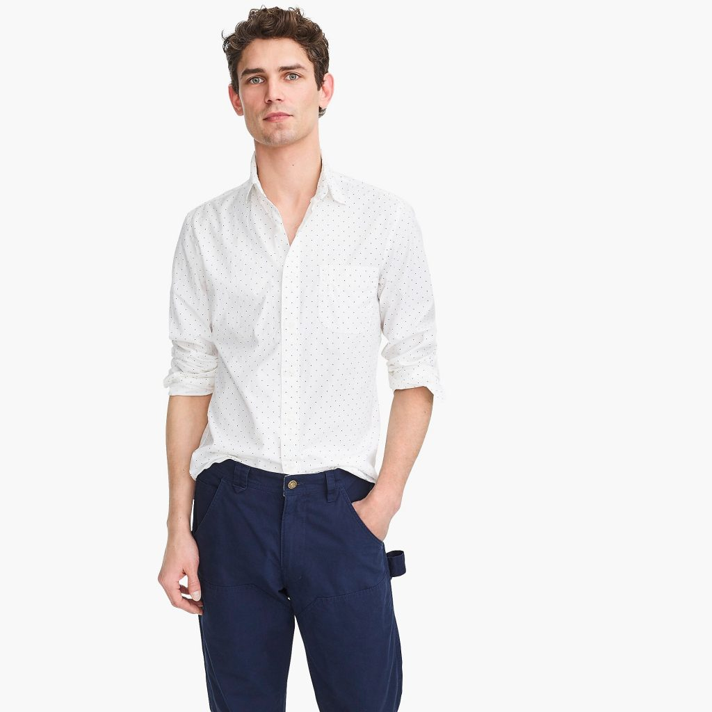 J. Crew Promotes Untucked Shirts, Models Them ... Tucked ...