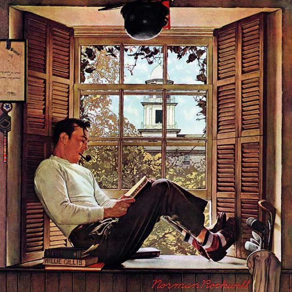Illustrated Style: Norman Rockwell