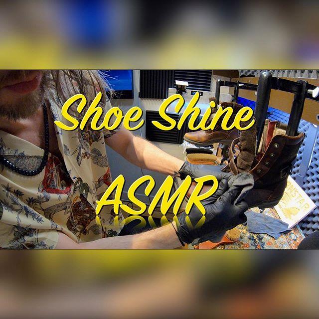 Shine and Subscribe: Jason Dorn's ASMR Shoe Shines