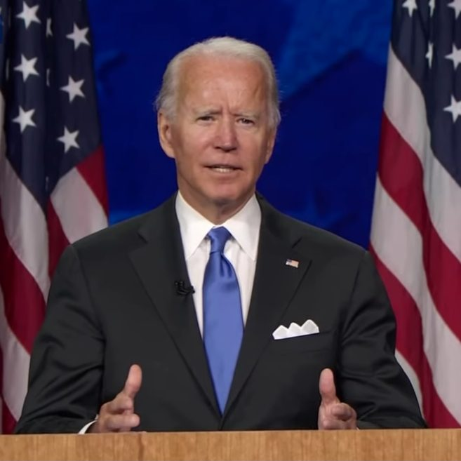 Joe Biden's Conspicuous Pocket Square's Conspicuous Pocket Square