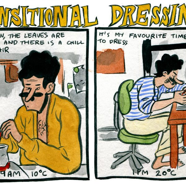 Style & Fashion Drawings: Transitional Dressing