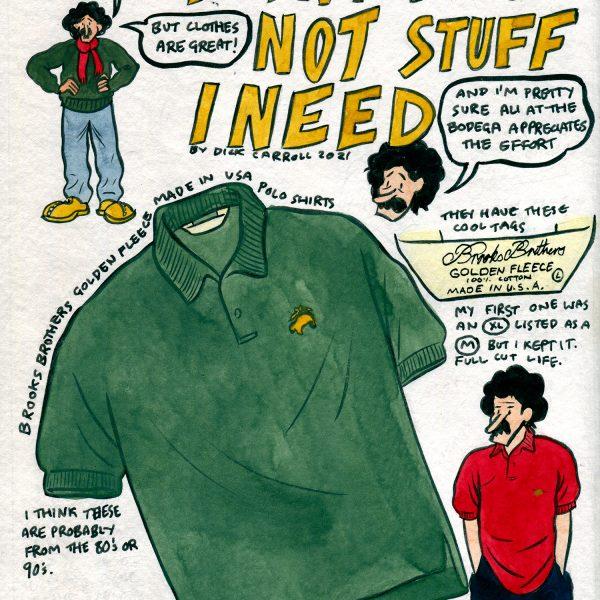 Style & Fashion Drawings: Things I Want, Not Stuff I Need
