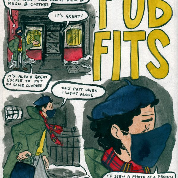 Style & Fashion Drawings: Pub Fits