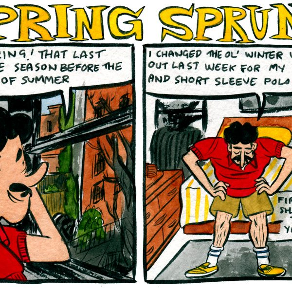 Style & Fashion Drawings: Spring Sprung
