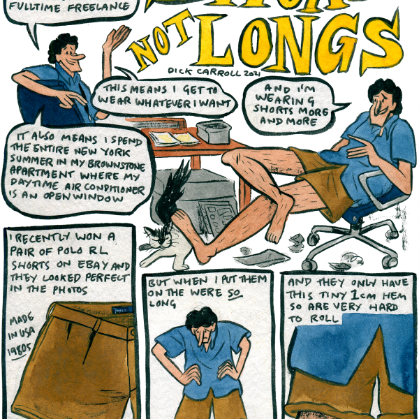 Style & Fashion Drawings: Shorts not Longs