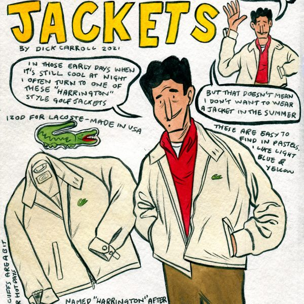 Style & Fashion Drawings: Transitional Jackets